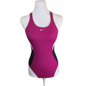 ⚡️ Nike Sports One Piece Swimsuit Size 6 Fits 4